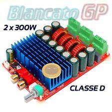 Amplificatore digitale in classe D 2 x 300W 4ohm TI TAS5630 HiFi 600W T-Amp DC