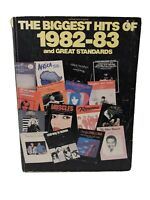 The Biggest Hits of 1982-83 and Great Standards Music Book Voice Piano Guitar