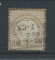 Germany 1872 18k Bistre SG 13 Nice Used ML639