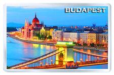BUDAPEST HUNGARY MOD8 FRIDGE MAGNET SOUVENIR IMAN NEVERA