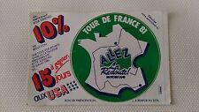 Autocollant Vintage « Tour De France 81 – Allez La Redoute » Très Bon Etat.
