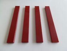 Lego 4162# 4x Fliese 1x8 rot dunkelrot  10179 10215