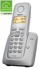 Siemen Gigaset A120 analog ECO MODE DECT Telefon strahlungsarm in weiß
