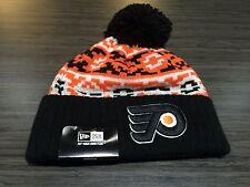 Philadelphia Flyers Cap Hat NHL Hockey New Era Beanie Toque OSFM Chill Knit