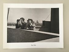 SAM TATA,SHANGHAI 1937,ROOFTOP WATCHERS,SINO-JAPANESE WAR, RARE 1989 PHOTO PRINT