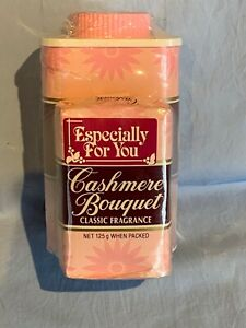 Collectable Cashmere Bouquet talc and soap set