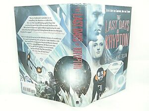 The Last Days of Krypton by Kevin J. Anderson GD 1ST 'SIGNED'