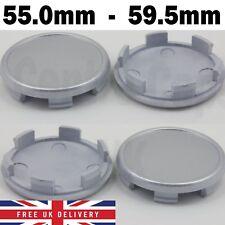 Alloy Wheel Center Caps Universel jante en plastique 4 X Centre Enjoliveur 59-55 mm sans logo