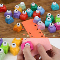 Kids Scrapbooking Card Paper Cutter Hand Punch Circle Hole Confetti DIY Craft YK