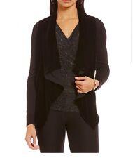 MICHAEL Michael Kors Velvet Front Drops Front Sweater. Size XS. $125.00