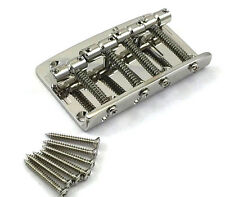 Gotoh 203 4-string Nickel Bass Bridge for Fender P/Jazz® 5-hole Top Load 203B-4N