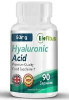 Hyaluronic Acid 50mg, food supplements, 100% quality, healthy lifestyle, sport