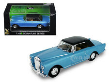 1961 BENTLEY CONTINENTAL S2 PARK WARD BLUE 1/43 DIECAST ROAD SIGNATURE 43215