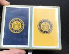 Vintage The Great Seal Of The State Of New york Playing Cards 1971 Nypd