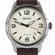 全新現貨SEIKO精工 Presage 自動 Dark Brown Calf 皮革錶帶手錶 SRPB03J1  HK*1