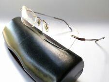 Ray-Ban Square rimless titanium Rose Colored eyeglass frames 51()18 135