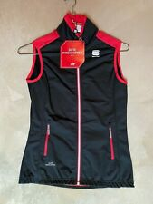 Sportful XC Cross Country Ski Squadra Womens Gore Windstopper Vest Size Small