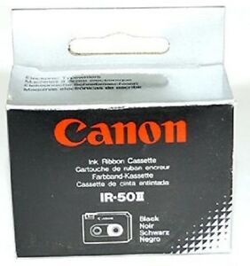 2 Original Farbband Canon S50 S70 IR-50II Wordboy PW10 Typestar 2 3 4 5 6 Ribbon