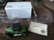 1926 Chevy Superior V 2 Passenger Coupe Green 1:32 Dicast Replica Car Vehicle