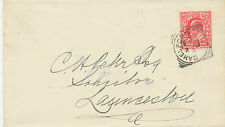 """2455 """"CAMELFORD"""" Squared Circle Postmark (Cohen Type II CT – late usage) superb"""