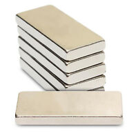 5pcs 30mm x 12mm x 5mm Very Strong Rare Earth Long Thick NdFeB Neodymium Magnets