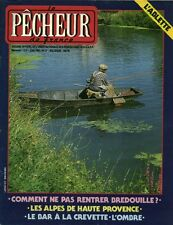 Revue le pêcheur de France No 27 Juin 1985