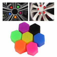 20x 17mm Silicone Wheel Lug Nut Bolt Hub Screw Cover Tyre Protective Cap Decor