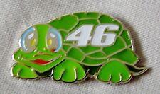 *NEW* '46 Turtle' enamel badge.Moto GP,V Rossi,Superbikes,