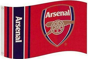 ARSENAL FC LARGE FOOTBALL CLUB MAST FLAG (5ft x 3ft) AFC WM