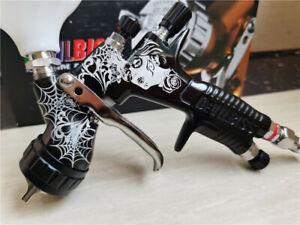 Spray gun GTi Pro Lite GTE20 1.3Tips Limited Edition BLACK 'Hot Rod' 600ml cup