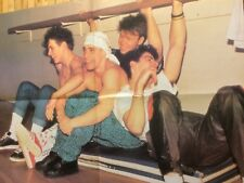 New Kids on the Block, Guys Next Door, Double Four Page Vintage Foldout Poster