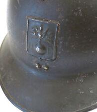 CASQUE DP, beau casque dp, casque ww 2, CASQUE ADRIAN, WW II .