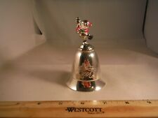Vintage Kirk Stieff Disney Pooh Genuine Silver Miniature Bell Music Box