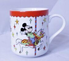 Disneyland Coffee Mug Carousel Disney World Cup Mickey Donald Minnie