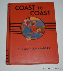Coast to Coast Quinlan Basic Readers Readiness Third Reader Hardcover NM! 1953