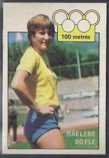 A&BC-OLYMPICS (X36)1972-#20- ATHLETICS - RAELENE BOYLE