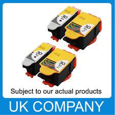 4 Unink Brand Ink  Kodak 30 XL Black & Colour Replace for ESP C110 C310 C315