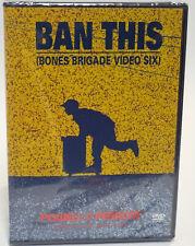 BAN THIS DVD Powell Peralta Skateboard  Bones Brigade VDABTV SEALED NEW