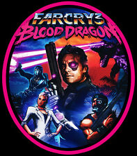 00's Video Game Classic Far Cry 3: Blood Dragon custom tee Any Size Any Color