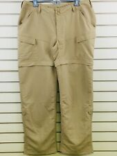 The North Face Womens 14 Tan Paramount Valley Convertible Pants Quick Dry Hiking