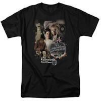 Labyrinth David Bowie Fantasy Cult film Retro 80s adult graphic t-shirt LAB137