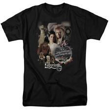 Labyrinth David Bowie Fantasy Cult film Retro 80's adult graphic t-shirt LAB137