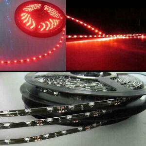 Red Side Emitting Slim LED Strip Light 5M 300leds 335 SMD Neon Contour Lamp 12V