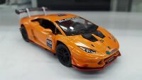 Lamborghini Huracan LP620-2 Super Trofeo orange kinsmart car model 1/36 scale