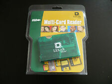 Lexar multi-reader Rw017-266 retail pkg Cf memory stick smartmedia Sd mmc reader
