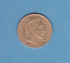 (F.01) 10 FRANCS OR NAPOLÉON III 1866 GRAND BB STRASBOURG (TTB) RARE