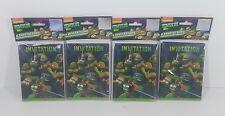 4 Packs - Teenage Mutant Ninja Turtles Invitations 32 Total Birthday Party TMNT