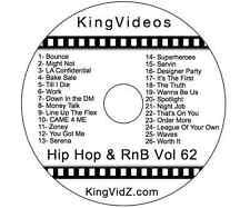 HipHop, Rap & RnB Music Videos DVD Vol 62! Ft Rick Ross Yo Gotti Tory Lanez T.I.