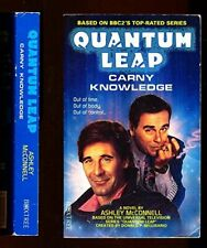 """""""Quantum Leap"""": Carny Knowledge by McConnell, Ashley Paperback Book The Fast"""