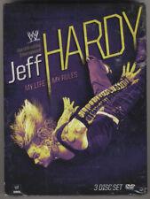 WWE : JEFF HARDY - My Life My Rules - 3DVD Set - Brand New & Sealed - Wrestling
